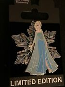 Disney Wdi Frozen Stained Glass Character Snowflake Le 300 Pin Princess Elsa D23