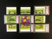 Wacky Packages 1975 Series 14 Complete Puzzle Set 5 Of 9 Psa 7 8 9