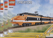 Lego Train 10233 Horizon Express - Instructions Manual Only - Brand New