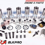 6new Piston Kit K For Cummins Engine Parts K50 G50 Ar12313 Ar11963 3803319