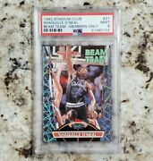 1992 Stadium Club Beam Team Members Only Shaquille Oand039neal 21 Psa 9 Rookie