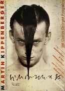 Offset Printed Poster Signed And Dated By Martin Kippenberger