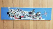 Acme Skateboards Deck Promo Item Weird-ohs Blockhead Jim Gray Scarecrow 90and039s