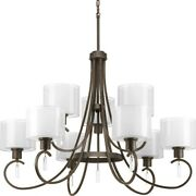 Invite - Chandeliers Light - 9 Light In New Traditional And Transitional Style -