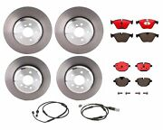 Brembo Front Rear Brake Kit Disc Rotors Ceramic Pads For Bmw F10 With Emf S212a