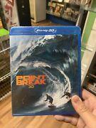 Point Break 3d And 2d 2015 3d Blu-ray Blu-ray Dvd Oop Htf 3 Disc