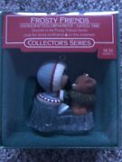 Hallmark Ornament Frosty Friends - 7 In The Series - Dated 1986