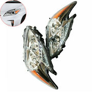 For 2010-2011 Toyota Prius Halogen Model Headlights Headlamps 10 11 Left And Right