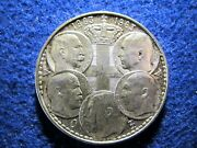1 Year Type 1963 Greece Silver 5 Kings 30 Drachma - Lustrous About Uncirculated