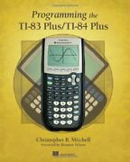Programming The Ti-83 Plus/ti-84 Plus By Christopher R. Mitchell Book The Fast