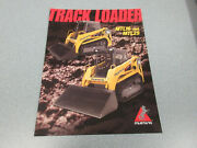 Mustang Mtl16 And Mtl25 Track Loader Brochure 2 Page