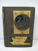 Book A Thousand And One Gems Of Poetry By C. Mackay Lld. 1800s Antique