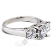 1.83ct D/si1 Round Natural Certified Diamonds 14kw Gold Classic Engagement Ring
