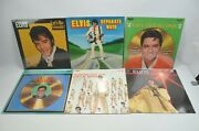 Lot Of 6 Elvis Vinyl Lp Record Collection Vol 2 3 4 Plus 2 More New Sealed