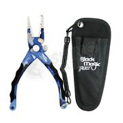 Black Magic Compact Fishing Pliers Stainless Steel