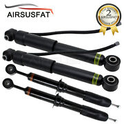 For Toyota Sequoia 08-19 4pcs Front Rear Air Suspension Shocks W/ads 48510-34040