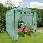 6' X 8' X 7' Portable Walk-in Outdoor Plant Gardening Greenhouse With Window