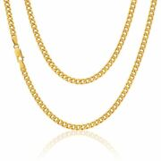 9ct Gold Curb Chain - 10mm - 16 18 20 22 24 Inch Cheapest On Ebay