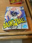 1989 - 90 Fleer Basketball Complete Seal Wax Box Bbce Wrapped