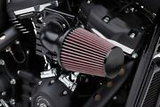 Cobra Motorcycle Cone Air Intake For 99-17 Twin Cam W/cv Carb Black