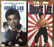 Vhs Lot The Green Hornet Starring Bruce Lee As Kato And The Real Bruce Lee Brn New