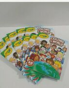Crayola Colors Of The World Coloring And Activity Book Landmarks Lot Of 10 New