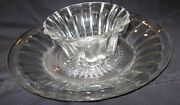Vintage Heisey Plate / Platter / Bowl 10 Diameter And Small Bowl See Pictures