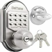 Mechanical Keyless Entry Door Lock Digital Code Keypad Knob Combination Deadbolt