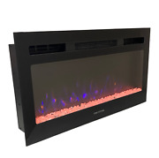 Greystone 31 Rv Camper 110v Led Crystal Flame Electric Fireplace F31-18a