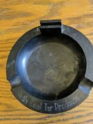 Rare Antique Ashtray Advertising Reilly Coal Tar Products Indur Chemical Vtg Old