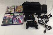 Microsoft Xbox 360 S Console With Kinect Sensor And 4 Games Dance Central