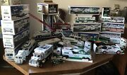Hess Truck Collection Lot 15 Boxes From 1996-2012, Includes Everything Pictured