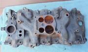 Oem Gm 353015 Intake Manifold Big Block Chevy 396 427 454 Spreadbore Q-jet Carb