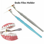 Dental Endodontic K H Hand Files Reamers Holder Endo Root Canal Handle 2 Color