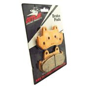 For Honda Tourist Trophy 500 89-90 Outlaw Racing Or69 Rear Sintered Brake Pads
