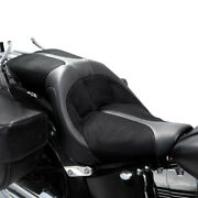 For Harley-davidson Fatboy 07-17 Istandtrade Tour 2-up Seat Ist Tour Leather 2-up Seat