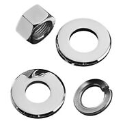 For Harley-davidson Electra Glide 73-85 Colony 8715-4 Rear Axle Nut And Washer Kit