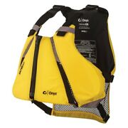Onyx Outdoor 122000-300-020-14 Movevent Curve X-small/small Yellow Life Vest