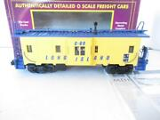 Mth Trains - 20-98208 Premier Long Island Bay Window Caboose - 0/027- New - Hb1