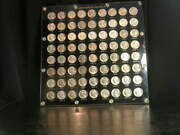 1938 Pds - 1964 Pds Uncirculated Bu Jefferson Nickel Set In Display