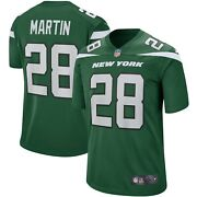 New York Jets Curtis Martin 28 Nike Menand039s Nfl Game Retired Player Jersey