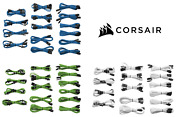 Professional Individually Sleeved Dc Cable Kit Type 3 Gen 2 - Blue/ Green/ White