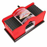 Card Shuffler 2-deck For Blackjack Poker Quiet Easy To Use Manual Hand