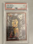 Kobe Bryant Rookie Card 1996 Topps Finest Bronze 74 W/ Coating Psa 9 Mint