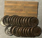 1979-s Susan B Anthony 1 One Dollar Coin Roll Of 25 San Francisco Circulated