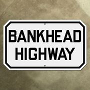 Alabama Bankhead Highway Marker Road Sign 1926 Us Route 78