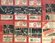 Vintage 1978-79 Liverpool Football Club Anfield Review Match Day Books X17