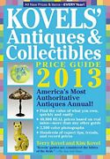 Kovelsand039 Antiques And Collectibles Price Guide Americaand039s Best... By Kovel Terry