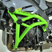Crazy Iron Yamaha Mt-10, Fz-10 Engine Guard Cage Pro, Subcage And Front Axle Peg