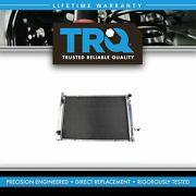 Trq Radiator And Ac Condenser Assembly Direct Fit For Infiniti G25 G37 Nissan 370z